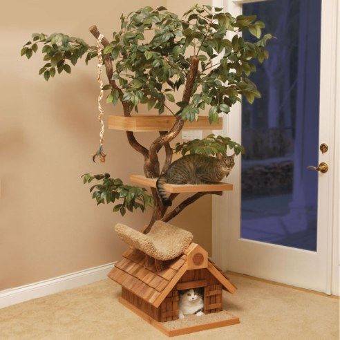 cat-tree-house